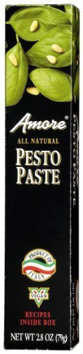 Amore Pesto Paste - Tube, 2.8 Ounce -- 12 per case. by - Candy Amore