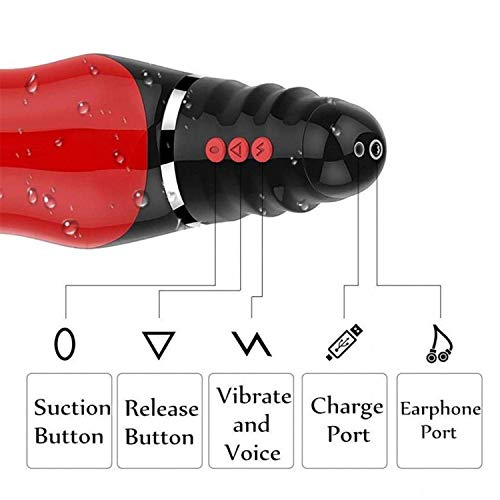 Handfree Male Automatic Telescopic Electric Masturbation Cup Men Adult Sex Toys by Dayed Sex Shop (Image #4)