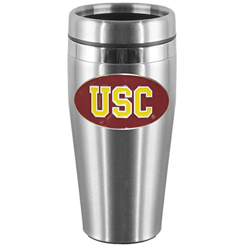 Siskiyou USC Trojans Steel Travel Mug