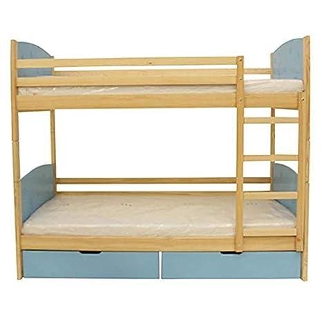 Maxima House Trio European Twin Bunk Bed