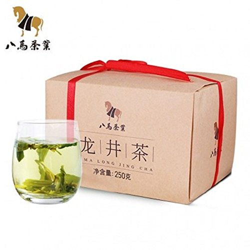 Bama tea 250g Dragon Well Chinese Longjing green tea the Chinese 浙江龙井 2017新茶 by Yichang Yaxian Food LTD.