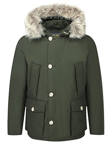 Eu Artic Scuro Tg Wocps2211 S Verdone Anorak Parka Verde Woolrich ZqPXw