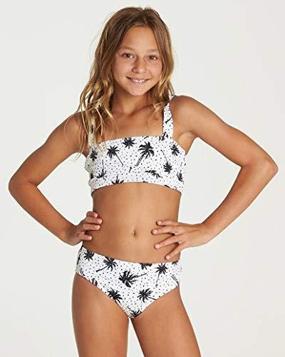 Billabong Girls' Totally Rad Square Neck Bikini Set Multi 12 by Billabong