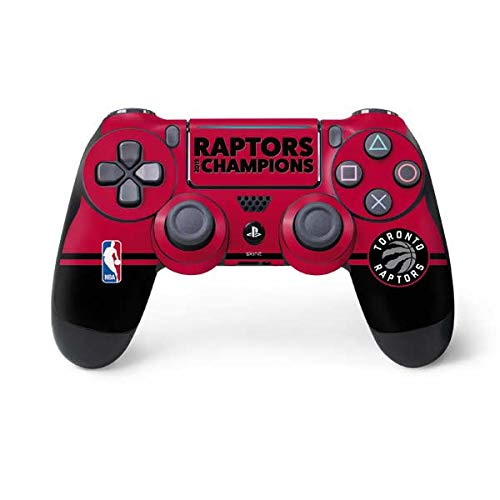 - Skinit 2019 Champions Toronto Raptors PS4 Pro/Slim Controller Skin - Officially Licensed NBA Gaming Decal - Ultra Thin, Lightweight Vinyl Decal Protection