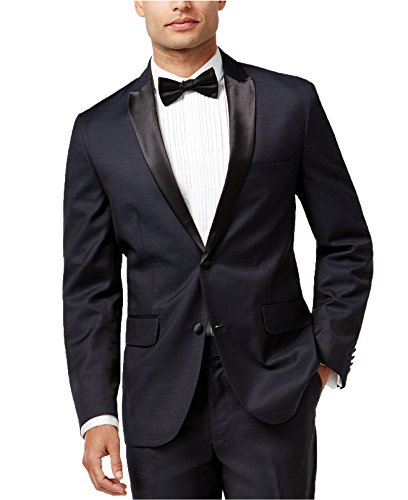 INC International Concepts Men's Plaza Slim-Fit Satin-Lapel Blazer - Shop Plaza International
