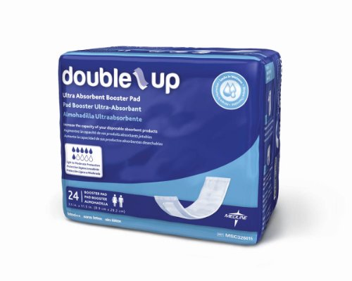 Double-Up Incontinence Liners, LINER,DIAPER,DOUBLER,THIN,3.5
