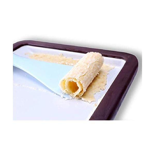 YYSDH Ice Cream Maker Laminati 2.020 Macchine Quadrati di Ghiaccio con Due spatole per Healthy Homemade Ice Cream… 5 spesavip