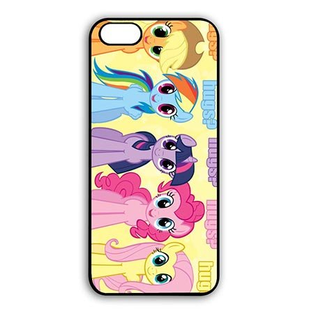 Nice Anime My Little Pony Case Cover for iPod Touch 6th Generation - Customizable iPod Touch 6th Generation Durable Case Special Gift for Friends (My Little Pony Ipod Touch Case)