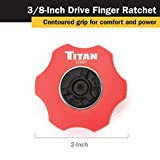 Titan 12091 3/8-Inch Drive 72-Tooth Finger Ratchet