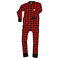Lazy One Bear Cheeks Adult Flapjacks Union Suit Onesie