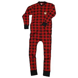 Lazy One Bear Cheeks Adult Flapjacks Union Suit Onesie