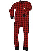 Bear Cheeks-Bear Adult Flapjacks Union Suit Onesie by Lazy One