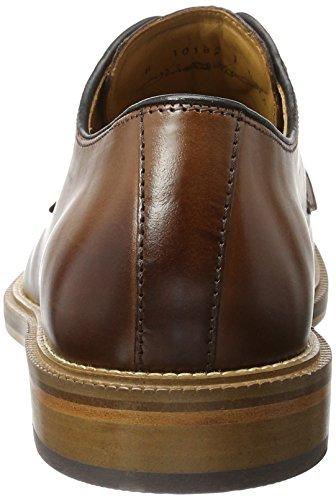 Fretz men 8131.2164, Zapatos de Cordones Hombre Marrón (Cigar)