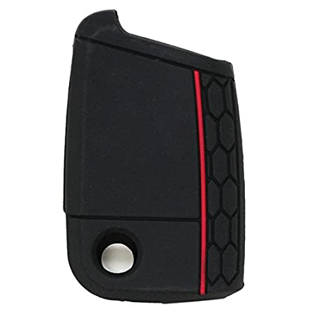 SEGADEN Silicone Cover Protector Case Skin Jacket fit for VOLKSWAGEN 3 Button Remote Key Fob CV9801 Rose