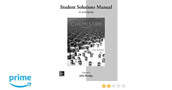 Student solutions manual for chemistry julia burdge 9780077574284 student solutions manual for chemistry julia burdge 9780077574284 amazon books fandeluxe Gallery