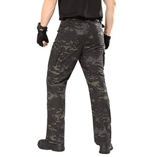 Degli Carico Tattico Camuffare Militari Combattimento Fami Di Uomini Pantaloni Dell'esercito All'aperto Casuale Del qUvwnWfat