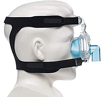 Maximum Comfort CPAP Headgear Universal Replacement Strap for Masks 4-Point Connection Works for Most All Nasal & Full-face Sleep apnea Masks - Sleep Apnea, Anti-Snoring Equipment