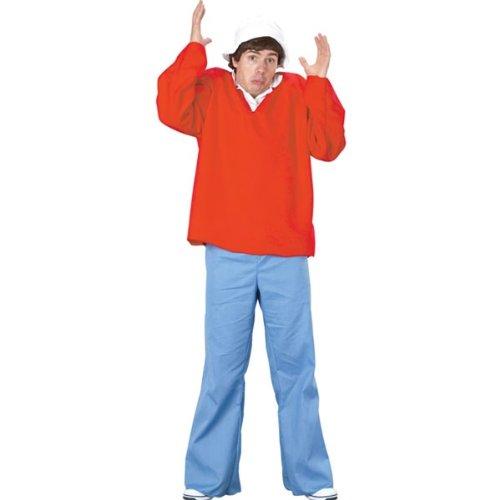 Gilligan's Island Gilligan Adult Costumes (Gilligan Costume - Standard - Chest Size 33-45)
