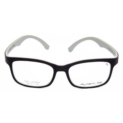 Plasta 90 (P3) Korean Designer Eyesglass Frame (Gray/sky - Frames P3 Eyeglass