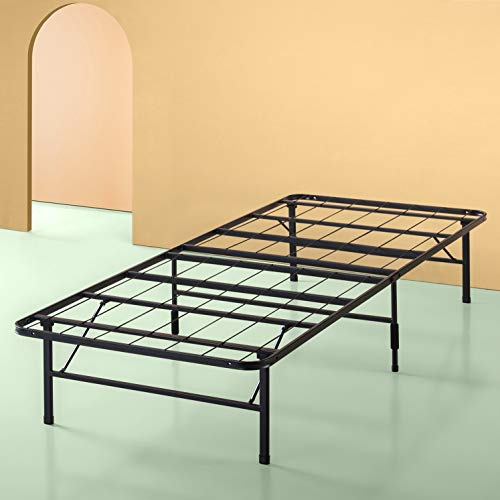 - Zinus Shawn 14 Inch SmartBase Mattress Foundation / Platform Bed Frame / Box Spring Replacement / Quiet Noise-Free / Maximum Under-bed Storage, Twin