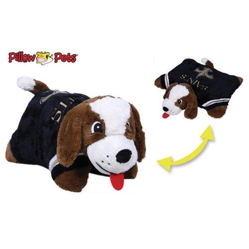 Fabrique Innovations NFL Pillow Pet , New Orleans Saints, Large