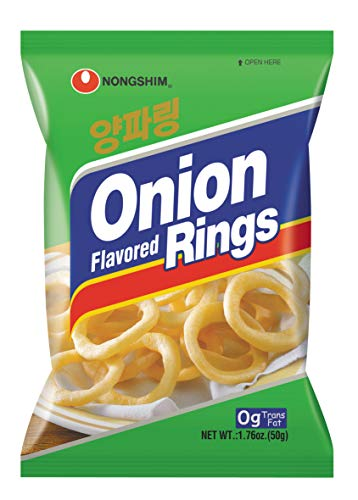 NongShim Snack Onion Flavored Rings, 1.41 Ounce (Pack of -