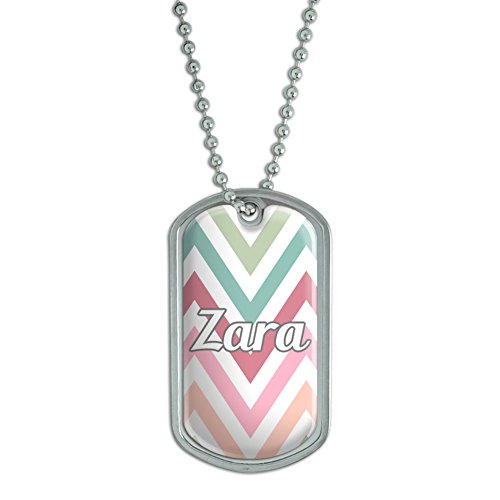Graphics and More Dog Tag Pendant Necklace Chain Names for sale  Delivered anywhere in USA