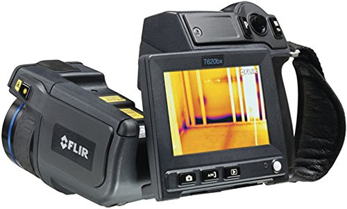 FLIR 55903-5622 Model T620bx Thermal Imaging IR Camera with Wi-Fi and 15° Lens; Built-in touch screen, 4.3