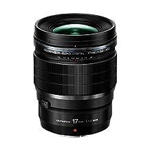 Olympus V311100BU000 F/1.2-16 Fixed Prime F1.2 Pro Lens, 17mm, Black
