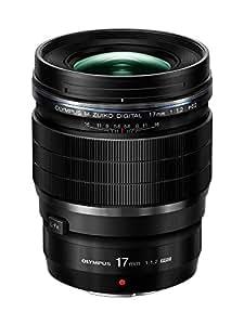 Olympus M Zuiko 17mm f1.2 PRO Lens, Black