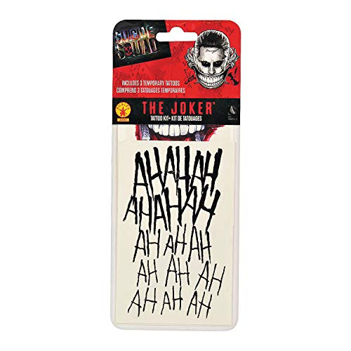 Fun Express - Rb Joker Tattoo Kit for Halloween - Apparel Accessories - Costume Accessories - Costume Make Up - Halloween - 1 Piece
