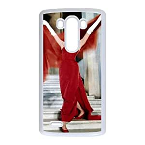 Audrey Hepburn LG G3 Cell Phone Case White JT3858151971