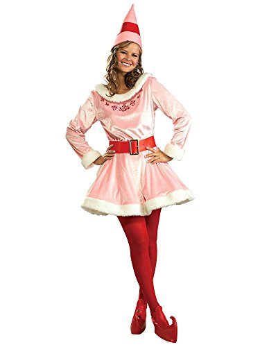 Rubie's Deluxe Jovi The Elf Costume, Pink, One Size -