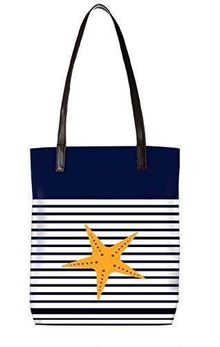 Snoogg Strandtasche, mehrfarbig (mehrfarbig) - LTR-BL-027-ToteBag
