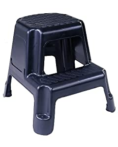 Amazon Com Cosco 11 911blk Two Step Molded Step Stool