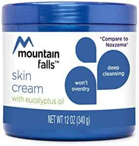 Mountain Falls Deep Cleansing Skin Cream with Eucalyptus Oil, Compare to Noxzema, 12 Ounce