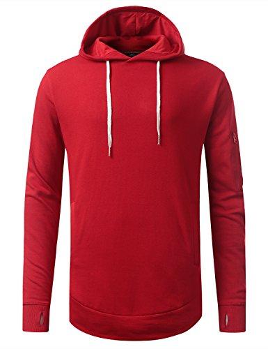 URBANCREWS Hipster Classic Pullover Sweatshirts