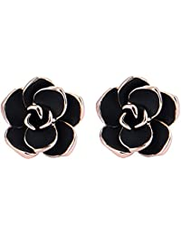Clip Earrings for Women, Crekonart Non Pierced Earrings...