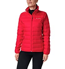 Columbia Lake 22 Chaqueta De Plumón, Mujer, Rojo (Red Lily), L