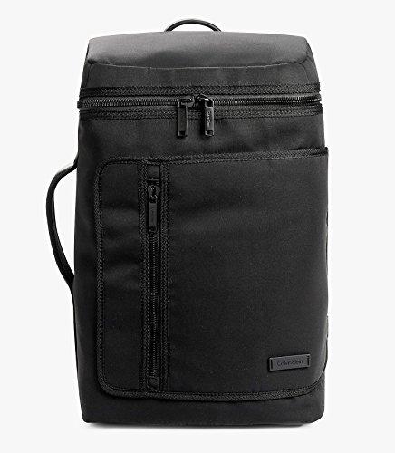 Calvin Klein Mens Adam Tech Backpack Travel Bag (Black) by Calvin Klein