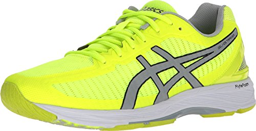 ASICS Men's Gel-DS Trainer 23 Safety Yellow/Mid Grey/White 10.5 D US ()
