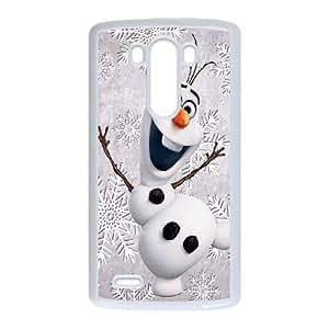 LG G3 Cell Phone Case White Olaf vhyr