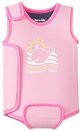 Jojo Maman Bebe Baby Girls\' Baby Wetsuit, Fuchsia, 0 6 Months