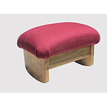 Amazon Com Kr Ideas Rocking Padded Foot Stool Burgundy