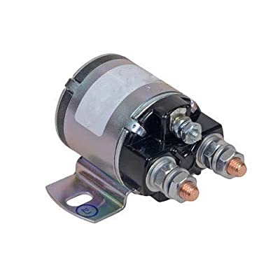 WHITE RODGERS 12 VOLT 100 AMP 3 TERMINAL CONTINUOUS DUTY SOLENOID FITS 124-105211 5120740 SO51207 124-105211-5 124-105211-3: Automotive