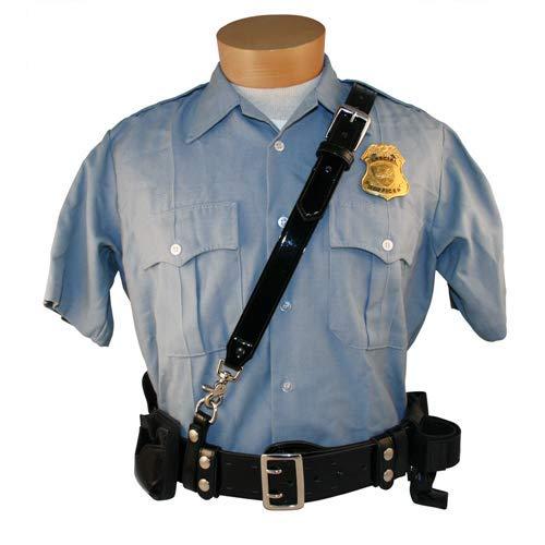 Boston Leather 6511-2-XL-GLD Sam Browne Clarino Duty Belt Shoulder Strap