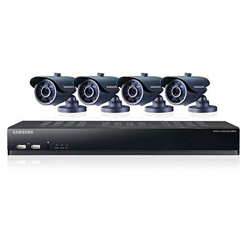 Samsung SDS-V4040N 8 Channel DVR Security System 500 GB HDD