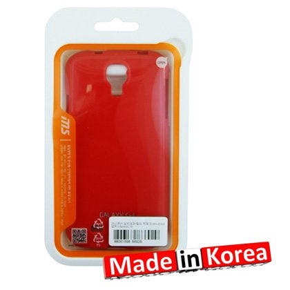 Reiko PSC101 SAMS4RD manucure-Jelly Case-Coque silicone pour Samsung Galaxy S4 Rouge