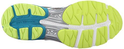 Shoe Titanium Gel ASICS Flux 3 Enamel White Running Blue Women's pqYZX