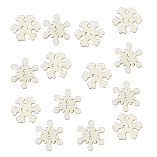 Buttons Galore Assorted Holiday Collection Snowflakes Buttons